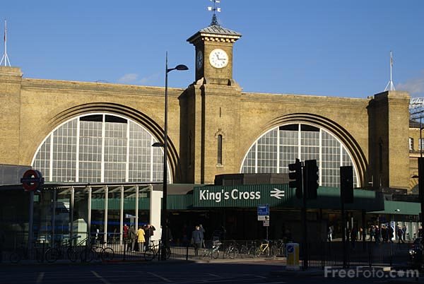 Picture of London Kings Cross - Free Pictures - FreeFoto.com