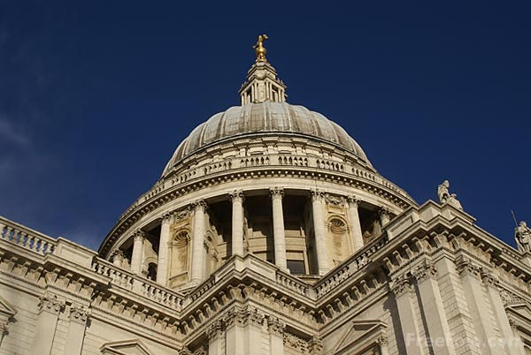Picture of St Paul's Cathedral, London, England - Free Pictures - FreeFoto.com