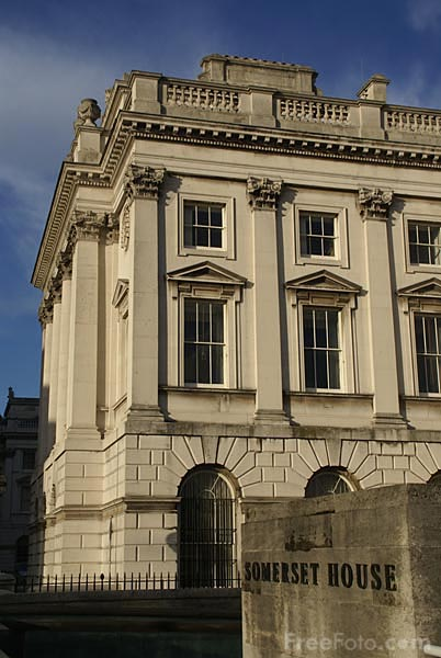 Picture of Somerset House - Free Pictures - FreeFoto.com