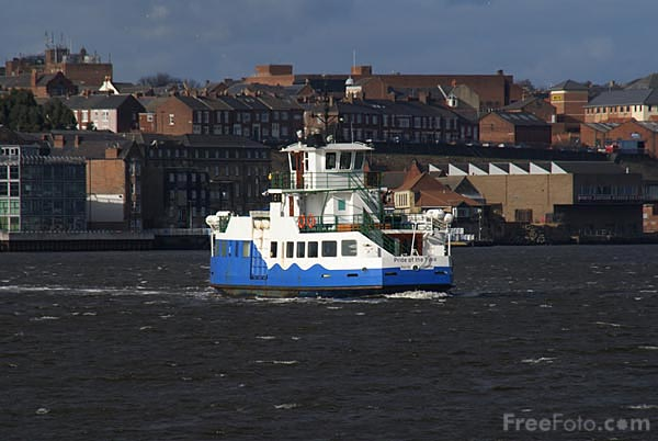 Picture of The Shields Ferry - Free Pictures - FreeFoto.com