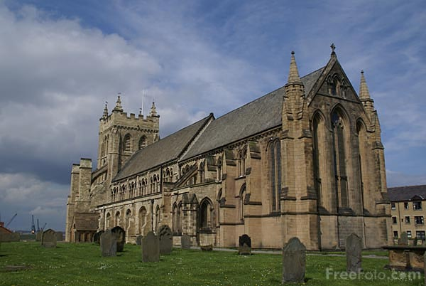Picture of Abbey Church of St. Hilda, Hartlepool - Free Pictures - FreeFoto.com