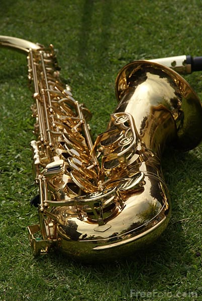 Picture of Saxophone - Free Pictures - FreeFoto.com