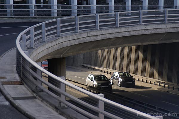 Picture of Newcastle Central Motorway East - Free Pictures - FreeFoto.com