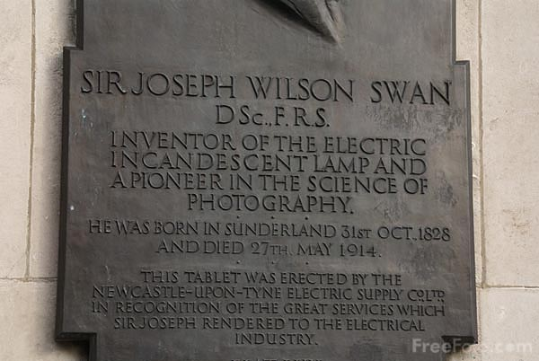 Picture of Sir Joseph Wilson Swan - Free Pictures - FreeFoto.com