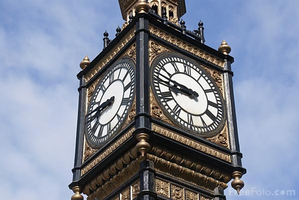 Picture of Clock Tower - Free Pictures - FreeFoto.com