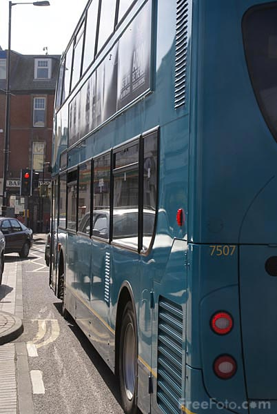 Picture of Double decker bus - Free Pictures - FreeFoto.com