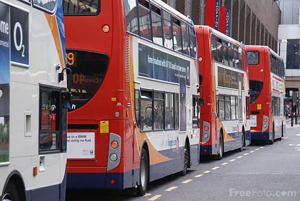 Picture of Stagecoach Bus Service - Free Pictures - FreeFoto.com