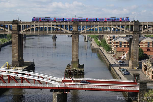 Picture of The High Level Bridge - Free Pictures - FreeFoto.com
