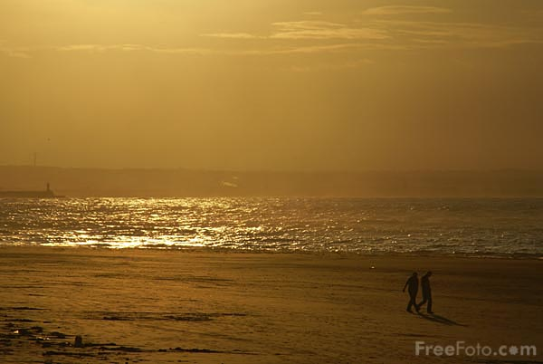Picture of North Sea at Sunset - Free Pictures - FreeFoto.com