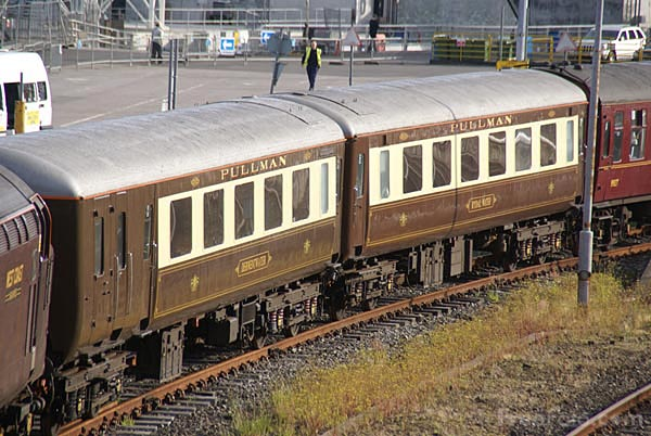 Picture of Pullman railway carriage - Free Pictures - FreeFoto.com