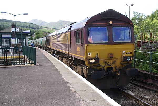 Picture of EWS Class 66 66103 - Free Pictures - FreeFoto.com