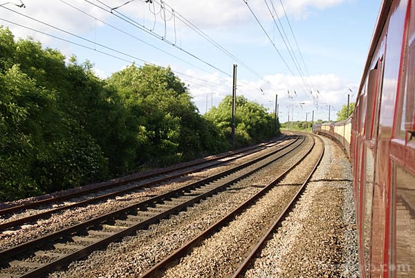 Picture of East Coast Main Line - Free Pictures - FreeFoto.com