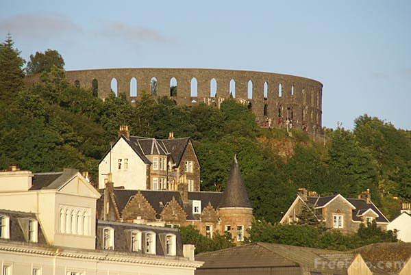 Picture of McCaig's Tower - Free Pictures - FreeFoto.com