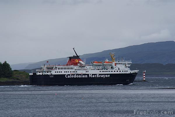 Picture of Caledonian MacBrayne ferry Isle of Mull - Free Pictures - FreeFoto.com