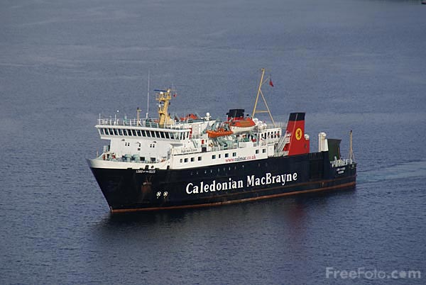 Picture of Caledonian MacBrayne Ferry - Free Pictures - FreeFoto.com
