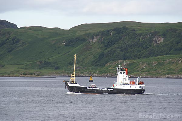 Picture of Caledonian MacBrayne - Free Pictures - FreeFoto.com