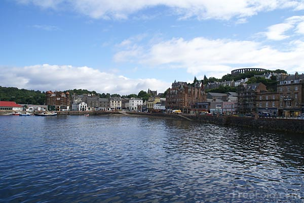 Picture of Oban waterfront - Free Pictures - FreeFoto.com
