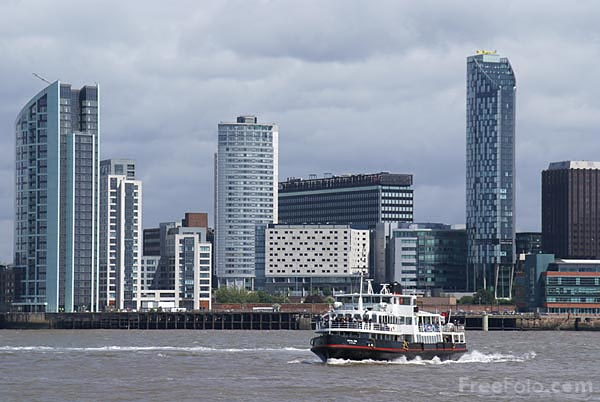 Picture of Mersey Ferry, Liverpool - Free Pictures - FreeFoto.com