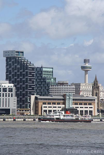 Picture of Liverpool Waterfront - Free Pictures - FreeFoto.com