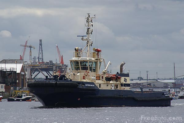 Picture of Tug Svitzer Maltby - Free Pictures - FreeFoto.com