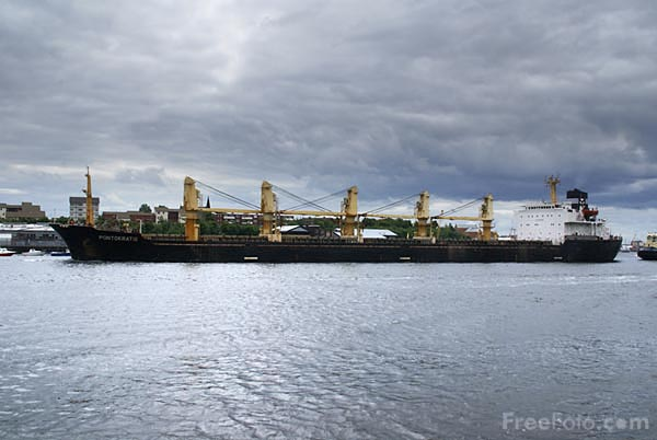 Picture of Cargo Ship Pontokratis - Free Pictures - FreeFoto.com
