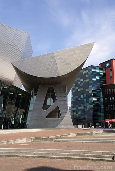 Picture of The Lowry Salford Quays - Free Pictures - FreeFoto.com