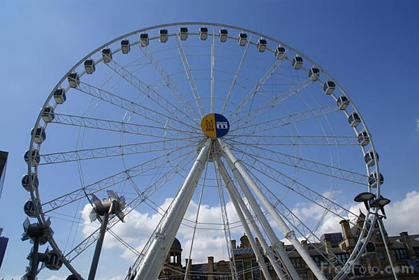 Picture of The Manchester Wheel - Free Pictures - FreeFoto.com