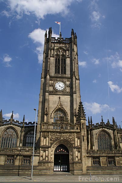 Manchester Cathedral Pictures Free Use Image 807 08 9089