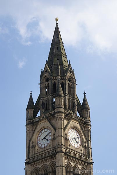 Picture of Manchester Town Hall - Free Pictures - FreeFoto.com