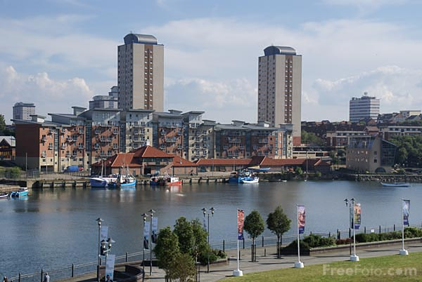 Picture of River Wear, Sunderland - Free Pictures - FreeFoto.com