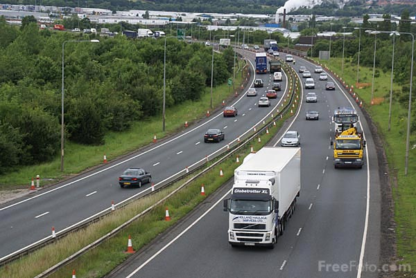 Picture of A1 Gateshead and Newcastle Western Bypass - Free Pictures - FreeFoto.com