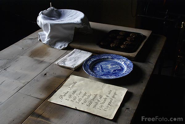 Picture of Kitchen, Pockerley Manor, Beamish Museum - Free Pictures - FreeFoto.com