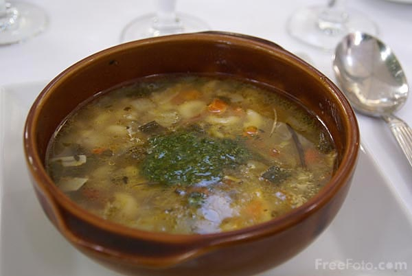 Picture of Vegetable Soup - Free Pictures - FreeFoto.com