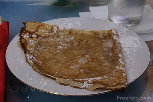 Picture of French crepes - Free Pictures - FreeFoto.com