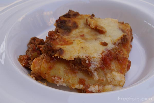 Picture of Lasagna - Free Pictures - FreeFoto.com