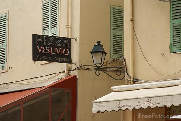 Picture of Menton Old Town - Free Pictures - FreeFoto.com