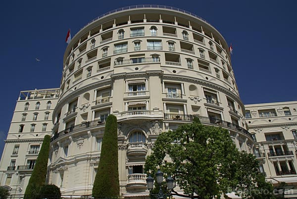 Picture of Hotel de Paris in Monaco - Free Pictures - FreeFoto.com