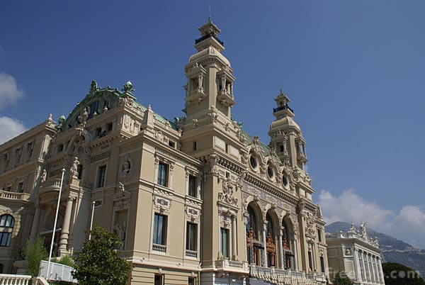 Picture of Monte Carlo Casino - Free Pictures - FreeFoto.com