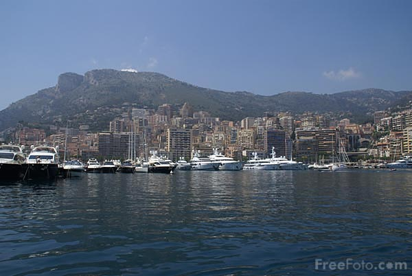 Picture of Port of Monaco - Free Pictures - FreeFoto.com