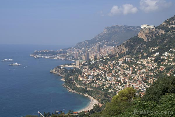 Picture of Roquebrune on the French Riviera - Free Pictures - FreeFoto.com