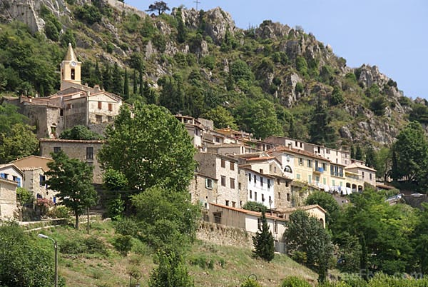 Picture of Sainte Agnes on the French Riviera - Free Pictures - FreeFoto.com