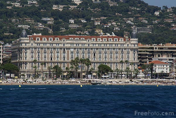 Picture of The InterContinental Carlton Hotel Cannes - Free Pictures - FreeFoto.com