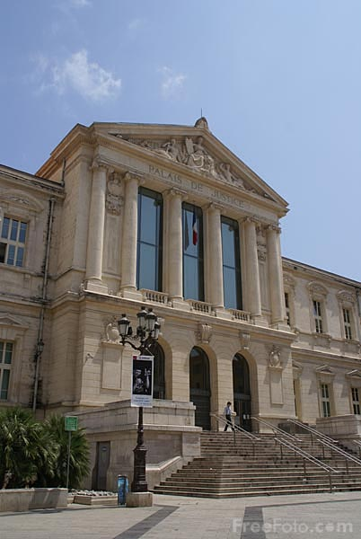 Picture of Place du Palais-de-Justice, Nice - Free Pictures - FreeFoto.com