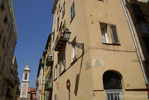 Picture of The Old Town, Nice, French Riviera - Free Pictures - FreeFoto.com
