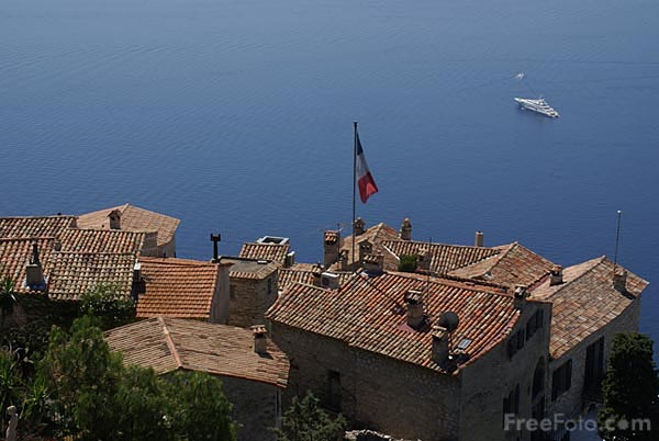 Picture of Panoramic view from Eze village - Free Pictures - FreeFoto.com