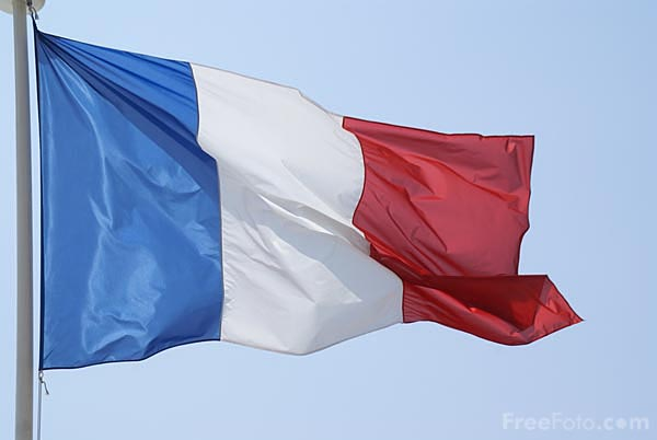 Picture of French Flag - Free Pictures - FreeFoto.com