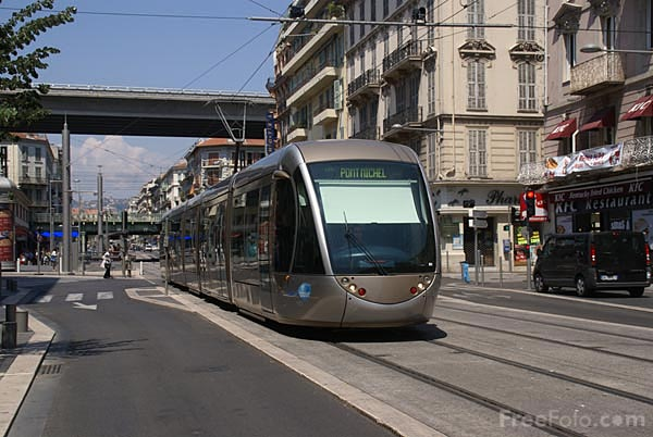 Picture of Nice Tramway - Free Pictures - FreeFoto.com