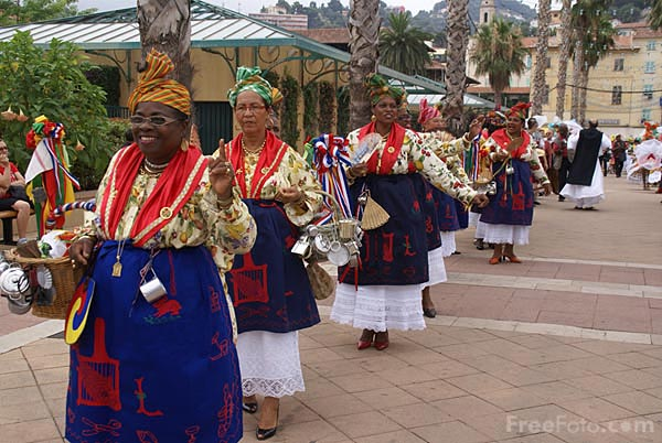 Picture of Menton Creole Festival - Free Pictures - FreeFoto.com