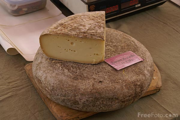 Picture of French Cheese - Free Pictures - FreeFoto.com