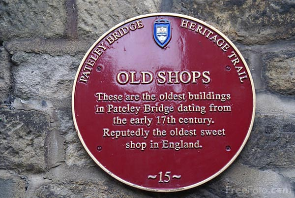Picture of The Oldest Sweet Shop in England, Pateley Bridge - Free Pictures - FreeFoto.com
